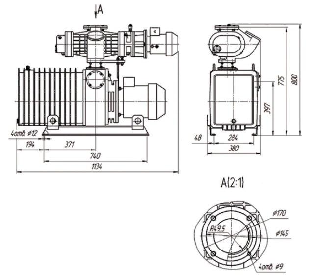 АВД-150/63 чертеж