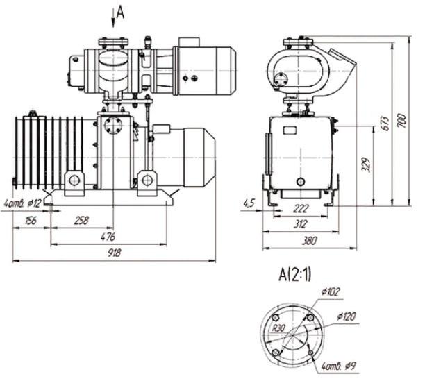 АВД-50-16 чертёж