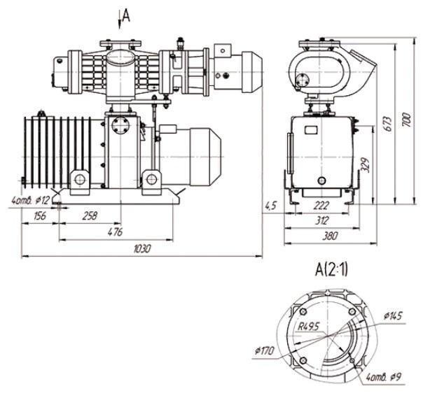 АВД-150/25 чертёж