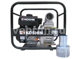 Полугрязевая бензиновая мотопомпа Koshin STV-80X - цена, заказать Насосное оборудование отечественное