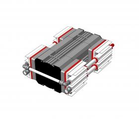 Мембранный насос МВНК - 2х4 - цена, заказать Насосное оборудование отечественное