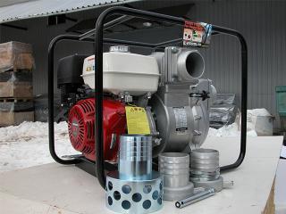 Грязевая бензиновая мотопомпа Koshin KTH-100X - цена, заказать Насосное оборудование отечественное