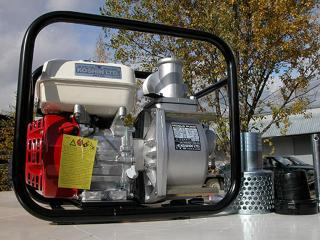 Полугрязевая бензиновая мотопомпа Koshin STH-80X - цена, заказать Насосное оборудование отечественное
