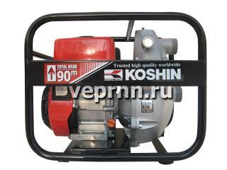Бензиновая пожарная мотопомпа Koshin SERM-50V - цена, заказать Насосное оборудование отечественное