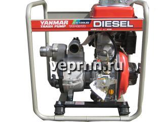 Дизельная мотопомпа Yanmar YDP20TN для грязной воды - цена, заказать Насосное оборудование отечественное