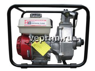 Бензиновая пожарная мотопомпа Daishin SCH-4070HX - цена, заказать Насосное оборудование отечественное