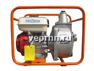 Бензиновая пожарная мотопомпа Koshin SERH-50B - цена, заказать Насосное оборудование отечественное
