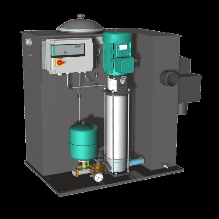 Насосная станция Wilo Economy CO/T-1 Helix V 608/CE - цена, заказать Установки повышения давления Wilo