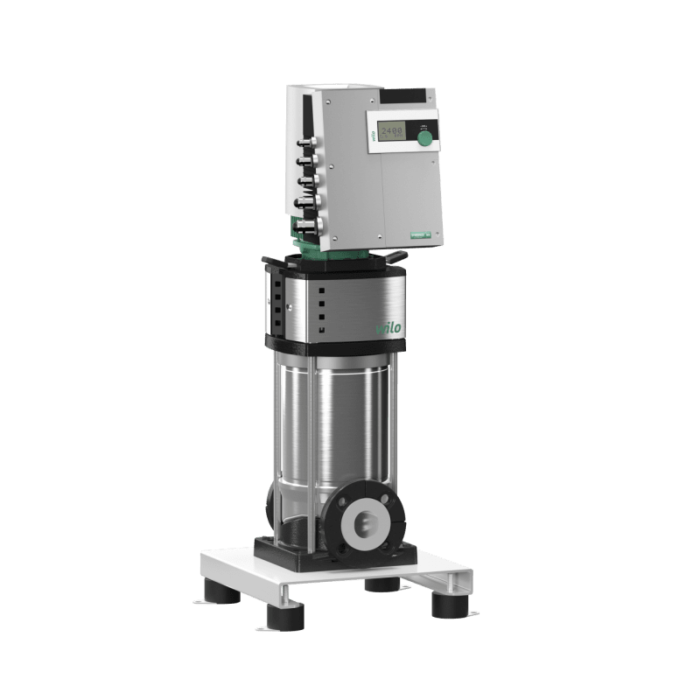 Вертикальный многоступенчатый насос Wilo Helix EXCEL 1009-2/25/V/KS - цена, заказать с регулируемой частотой вращения электродвигателя Wilo