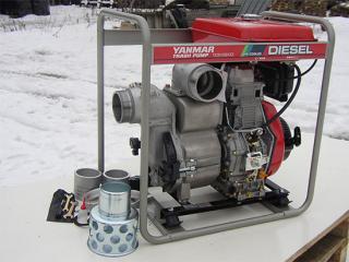 Дизельная мотопомпа Yanmar YDP40TN для грязной воды - цена, заказать Насосное оборудование отечественное