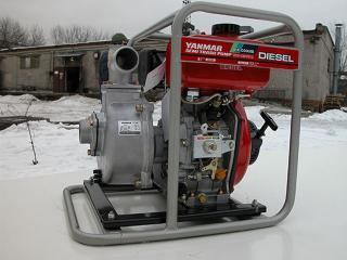 Дизельная мотопомпа Yanmar YDP20STN для грязной воды - цена, заказать Насосное оборудование отечественное
