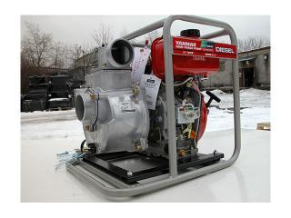 Дизельная мотопомпа Yanmar YDP30STN для грязной воды - цена, заказать Насосное оборудование отечественное