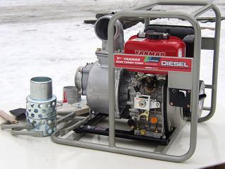 Дизельная мотопомпа Yanmar YDP40STN-E для грязной воды - цена, заказать Насосное оборудование отечественное