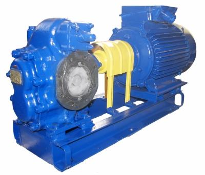 Насосы Ш 40-4-19,5/4Б-7 - шестеренные судовые для нефтепродуктов - цена, заказать Насосное оборудование отечественное