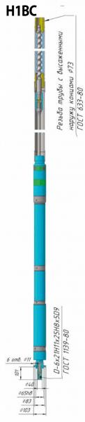 Насосы одновинтовые скважинные для откачки пластовой жидкости из нефтяных скважин - цена, заказать Насосное оборудование отечественное