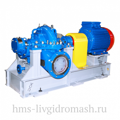Насосы Д 3200-75 - двухстороннего входа горизонтальные для воды - цена, заказать Насосное оборудование отечественное
