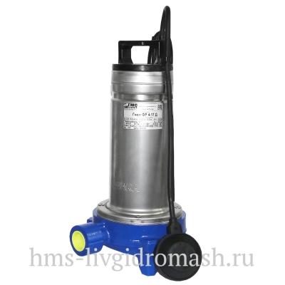 Насосы Гном ФР 4-17, 220В - погружные фекальные моноблочные для дренажа, канализации, с режущим механизмом-измельчителем (ФР) - цена, заказать Насосное оборудование отечественное