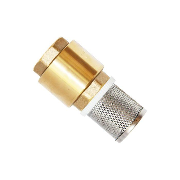 """Обратный клапан Unipump 1 1/4"""" с сеткой - цена, заказать Комплектующие и аксессуары Unipump"""