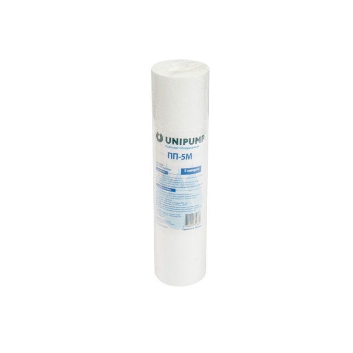 Полипропиленовый картридж Unipump ПП-5 М 10 дюймов (5 мкм) - цена, заказать Картриджи фильтрации Unipump