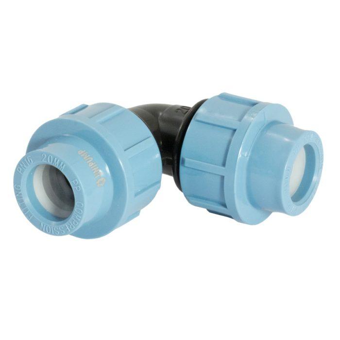Отвод Unipump 90 ТМ265002 25 - цена, заказать Фитинги ПНД Unipump