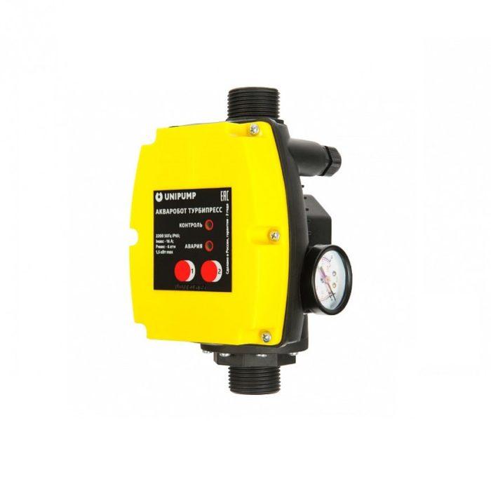 Блок управления насосом Unipump АКВАРОБОТ ТУРБИПРЕСС 1,5 кВт (NEW) - цена, заказать Автоматика Unipump