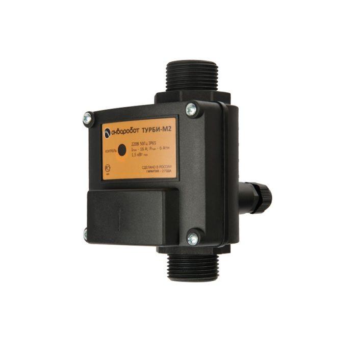 Блок управления насосом Unipump АКВАРОБОТ ТУРБИ-М2 (1,5-3,0 бар) - цена, заказать Автоматика Unipump