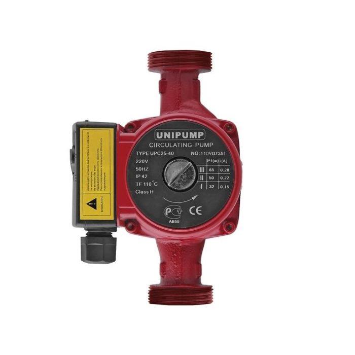 Циркуляционный насос Unipump UPС 25-40 180 - цена, заказать Циркуляционные насосы Unipump