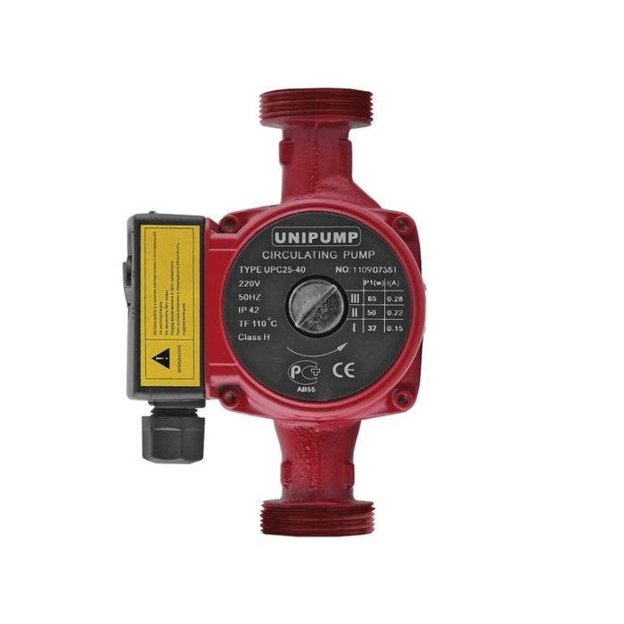 Циркуляционный насос Unipump UPС 32-40 180 - цена, заказать Циркуляционные насосы Unipump