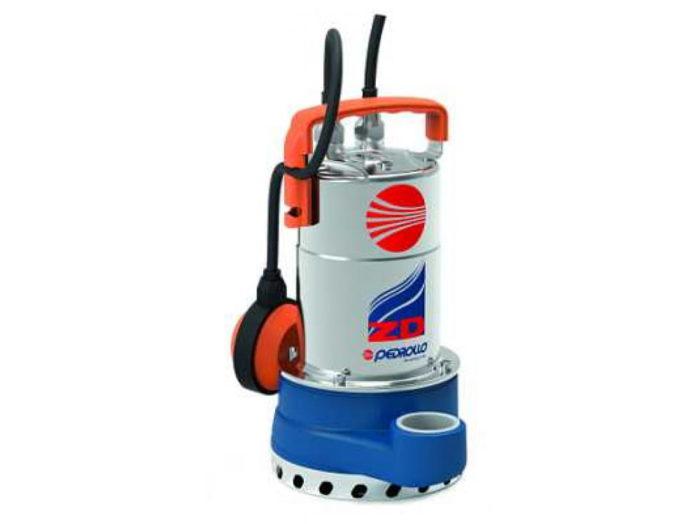 Насос дренажный Pedrollo ZDm 1 AR-E 5m - цена, заказать Дренажные погружные насосы Pedrollo