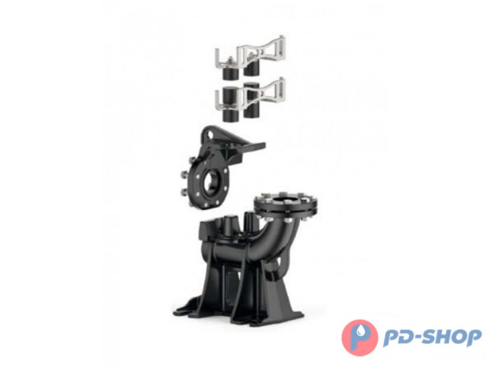 Комплект вертикальных опор Pedrollo к VXC 4 (DN100) - цена, заказать Комплектующие