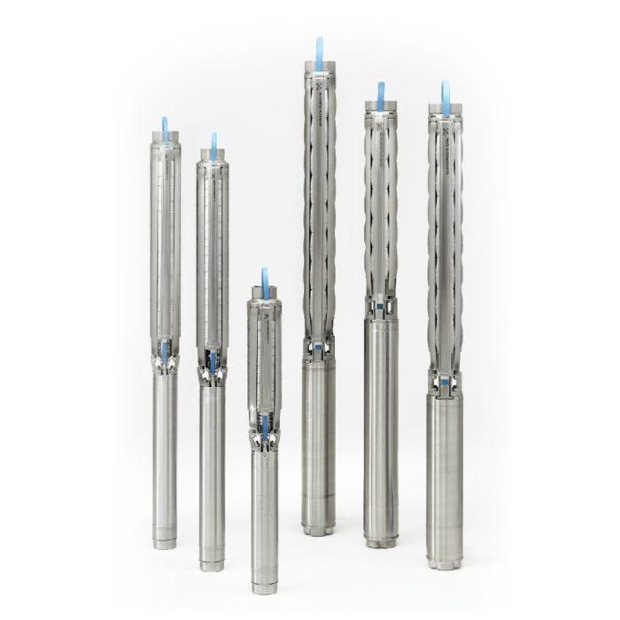 Скважинный насос Grundfos SP 5A-44 3x400В - цена, заказать Скважинные насосы SP A 3x400В