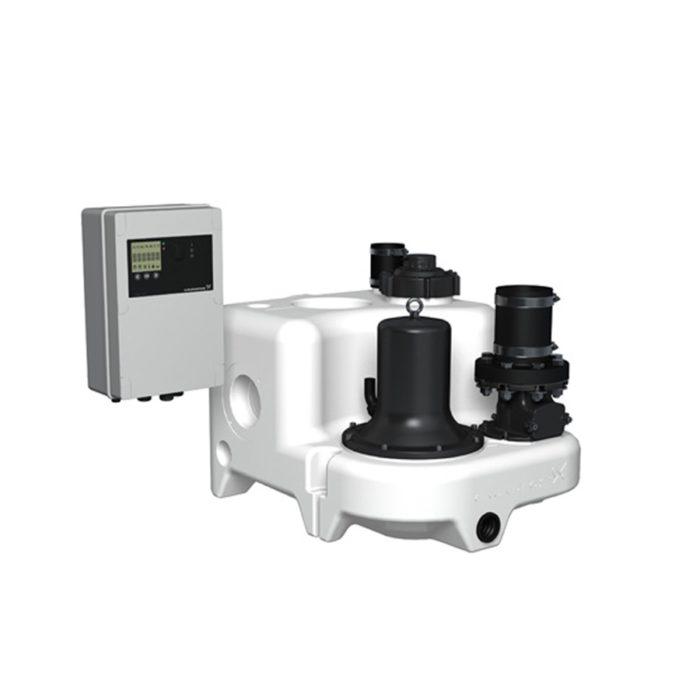Канализационная насосная установка Grundfos MULTILIFT M.12.1.4 (4м) - цена, заказать Канализационные насосные установки MULTILIFT