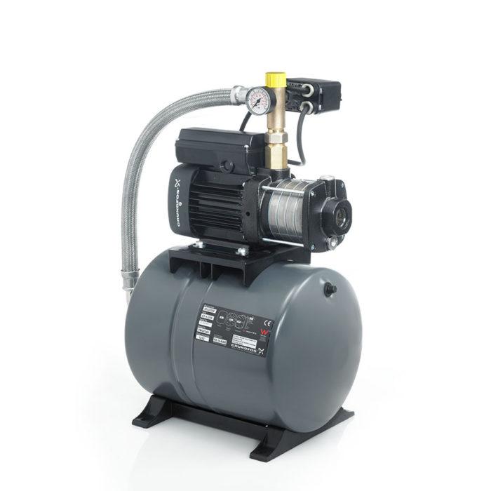 Насосная установка повышения давления CMB 3-55 (бак 60 л) - цена, заказать Насосные установки повышения давления CMB