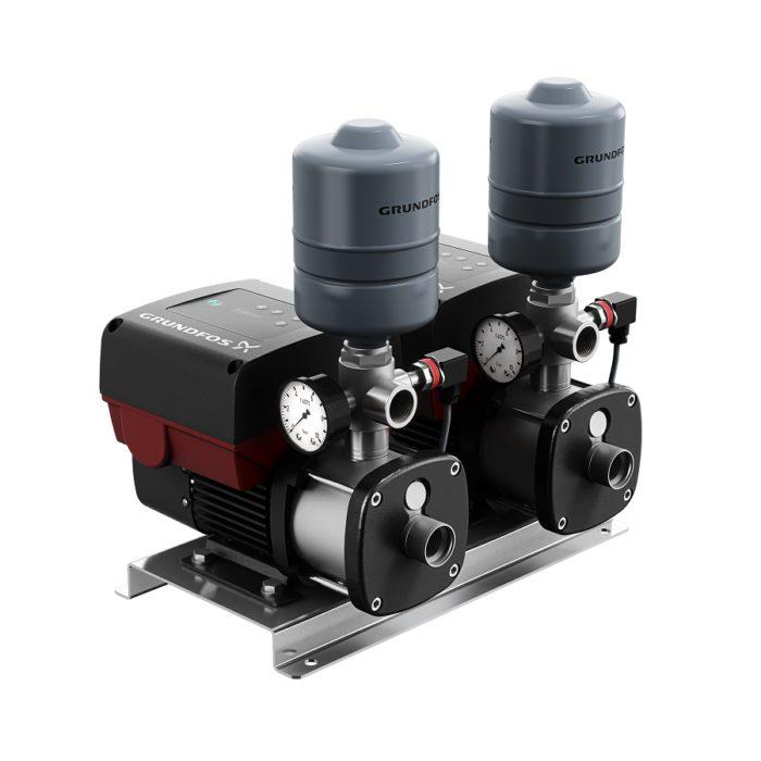 Насосная установка повышения давления CMBE TWIN 3-62 Schuko - цена, заказать Насосные установки повышения давления CMBE TWIN
