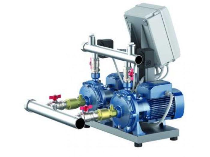 Станция повышения давления Pedrollo CB2 - 2CP 25/ 16C - цена, заказать Установка повышения давления COMBIPRESS-CB2