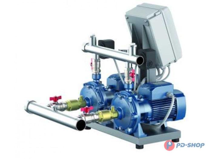 Станция повышения давления Pedrollo CB2 - 4CRm 100 - цена, заказать Установка повышения давления COMBIPRESS-CB2