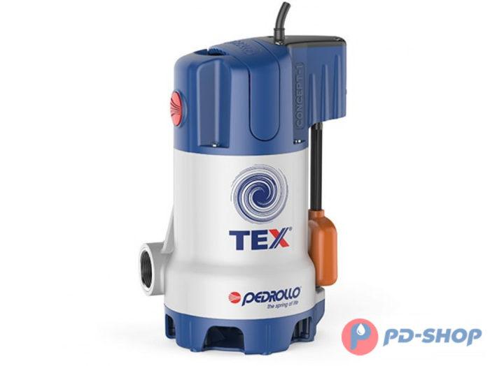 Насос дренажный Pedrollo TEX 2 - цена, заказать Дренажные погружные насосы Pedrollo