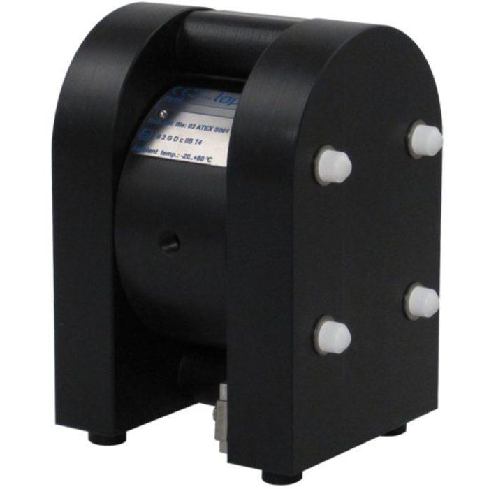 Мембранный насос Tapflo TXR20 PTT (1/4″) со взрывозащитой - цена, заказать Мембранные насосы Tapflo