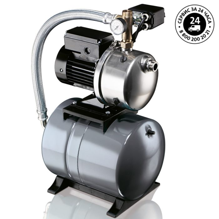 Самовсасывающая насосная установка JPB 6 (бак 60 л) - цена, заказать Самовсасывающие насосные установки водоснабжения JPB