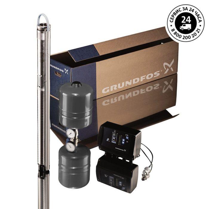 Скважинный насос SQE 2-115 комплект - цена, заказать Скважинные насосы SQE - комплект