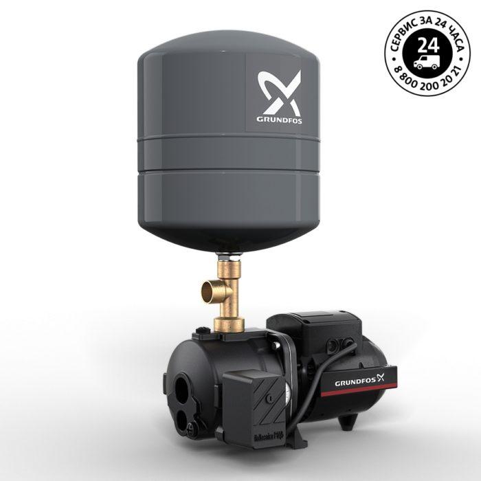 Самовсасывающая насосная установка с внешним эжектором Grundfos JPD 4-54 PT-V - цена, заказать Самовсасывающие насосные установки водоснабжения с внешним эжектором JPD PT
