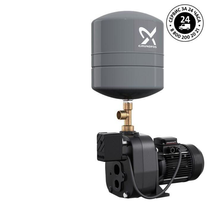 Самовсасывающая насосная установка с внешним эжектором Grundfos JPD 5-61 PT-V - цена, заказать Самовсасывающие насосные установки водоснабжения с внешним эжектором JPD PT