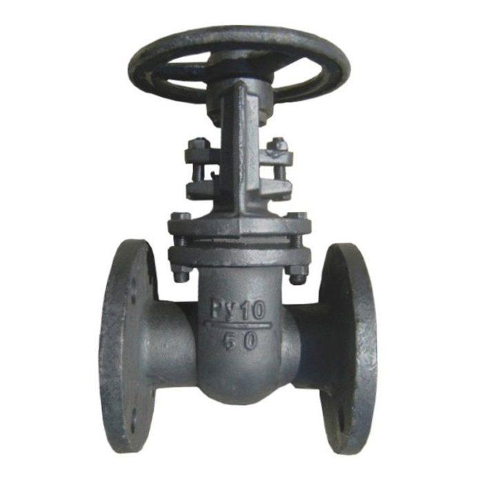 Задвижка чугунная однотипная 30ч6бр Ду 80 PN 10 - цена, заказать Трубопроводная арматура