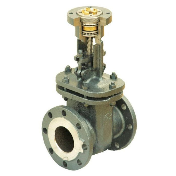 Задвижка стальная 30с941нж Ду 50 PN 16 под привод - цена, заказать Трубопроводная арматура