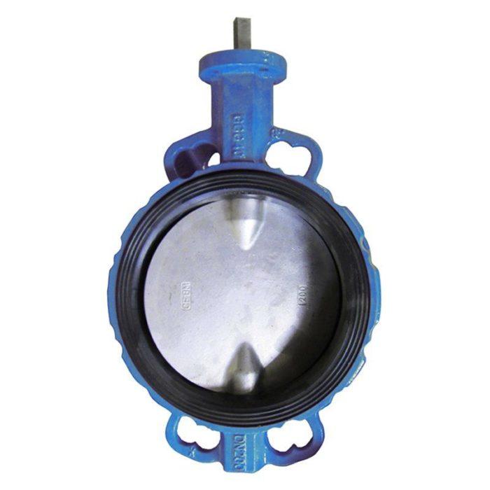 Затвор чугунный с чугунным диском и уплотнением EPDM Ду 400 PN 16 шток - цена, заказать Трубопроводная арматура