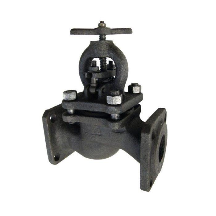 Вентиль чугунный 15кч16нж, Ду 50, фланцевый - цена, заказать Трубопроводная арматура