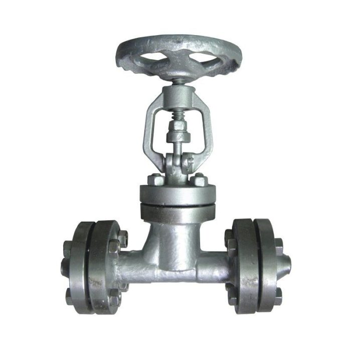 Вентиль стальной 15с52нж10, Ду 15, фланцевый - цена, заказать Трубопроводная арматура