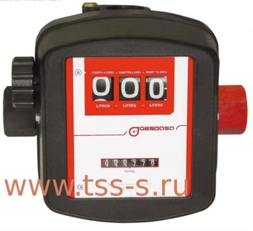 Счетчик механический GESPASA MG 80V - цена, заказать Счётчики учёта ГСМ Gespasa
