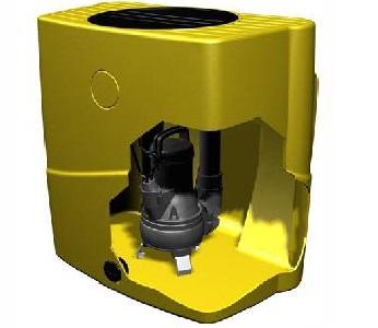 Автоматическая насосная станция для накопления и подъема загрязненной воды Espa Drainbox 300 800M A TP - цена, заказать Канализационные установки Espa