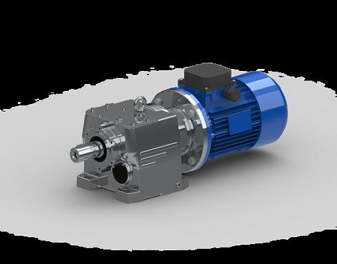 Цилиндрический мотор-редуктор MTC 63A - цена, заказать Цилиндрические
